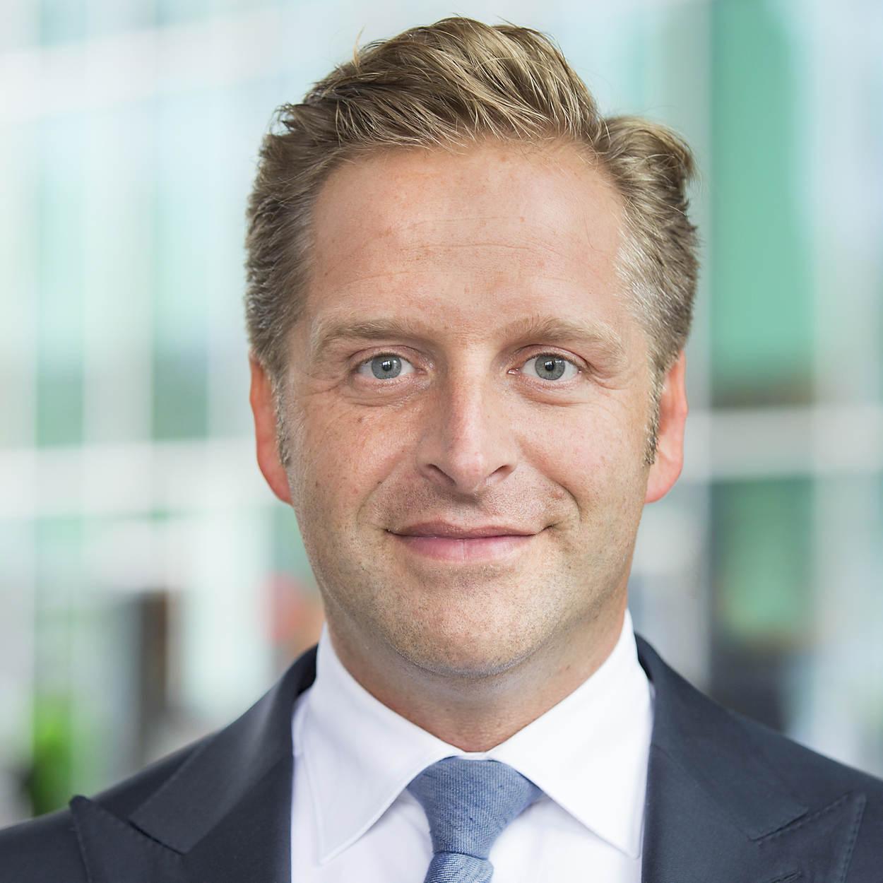 Portret Hugo de Jonge voor Rijksoverheid.nl